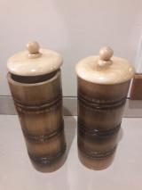 Bamboo Storage Jar